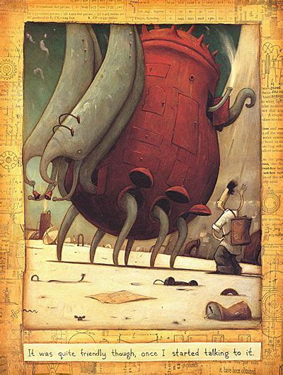 The Lost Thing is a humorous story about a boy who ...