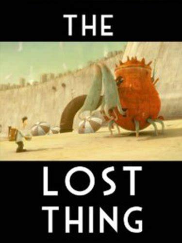 THE LOST THING: Tim Minchin, Andrew Ruhemann Shaun Tan ...