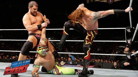The Lucha Dragons vs. Curtis Axel & Heath Slater: WWE Main ...