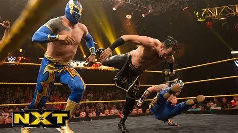 The Lucha Dragons vs. The Ascension: WWE NXT, Sept. 25 ...