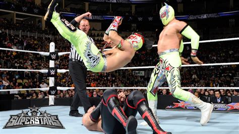 The Lucha Dragons vs. The Ascension: WWE Superstars, March ...