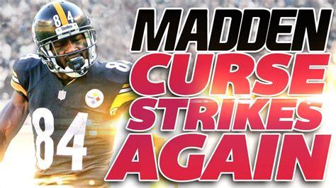 THE MADDEN CURSE RETURNS! Madden 19 Cover Athlete Antonio ...