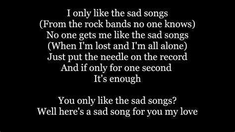 The Maine   Sad Songs Lyrics   YouTube