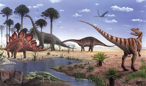 The Mesozoic Era: When Dinosaurs Ruled ~ Learning Geology