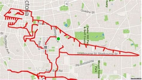 The most impressive Strava GPS drawings we ve seen so far