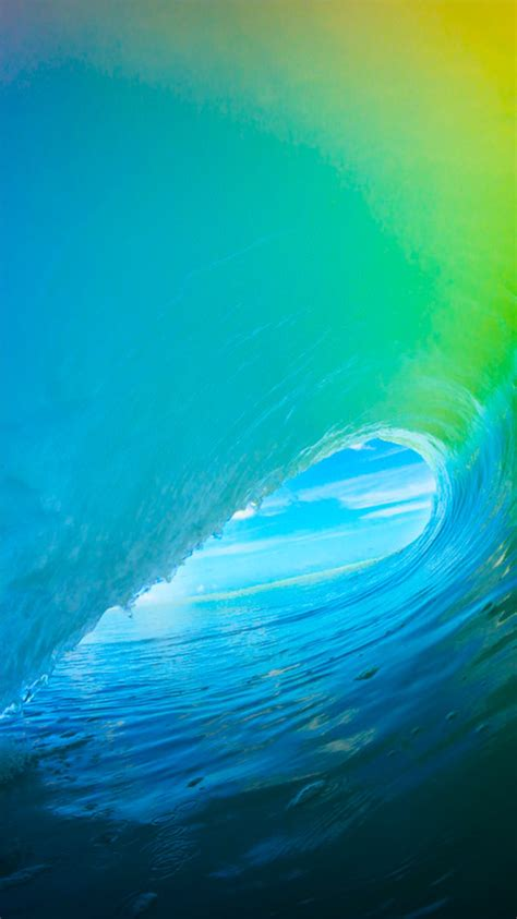 The new iOS 9 wallpaper for iPhone