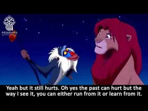The past can hurt.. But you can either run from it or ...