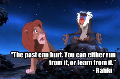 The Past Can Hurt, You Can Either Run From It Or Learn ...