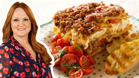 The Pioneer Woman Makes Loaf Pan Lasagna | Food Network ...
