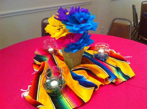 The Posh Pixie: Mexican Party Table Decorations