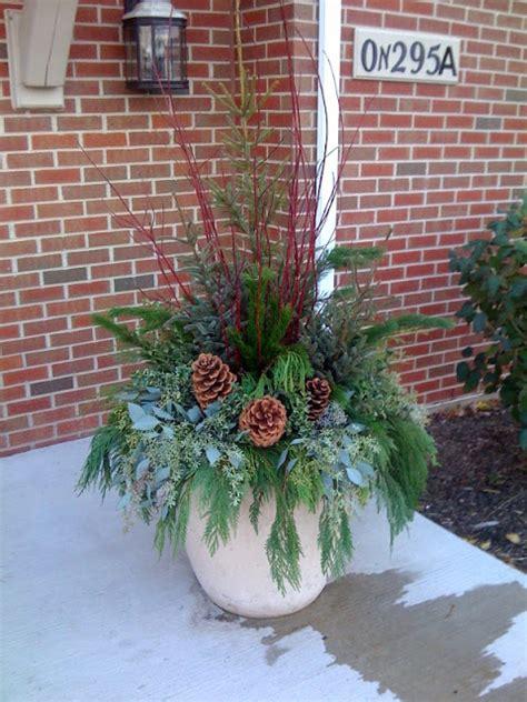 The PURE Gardener, Inc.: Beautiful Winter Planters.... it ...