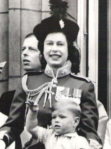 The Queen with Prince Andrew   Queen and her children ...