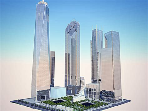 The Re Designed Concept for Two World Trade Center ...