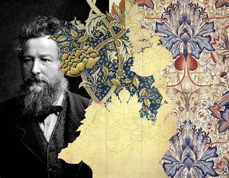 The Revival of William Morris Decorative Arts. — Martine ...