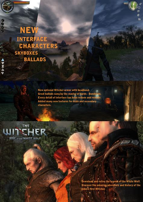 The Rise of the White Wolf Enhanced Edition mod for The ...