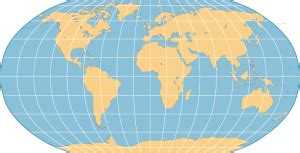 The Robinson Projection – Robinson Map Library
