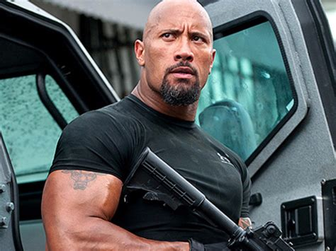 The Rock s  Fast and Furious  role was originally written ...