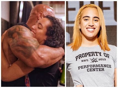 The Rock's Daughter Simone Johnson Signs Deal With WWE ...