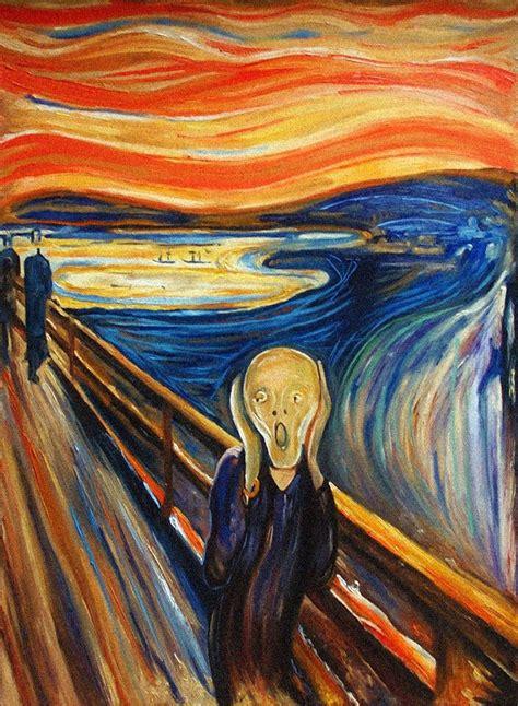The Scream  Parody | Famous art paintings, Famous art, Art