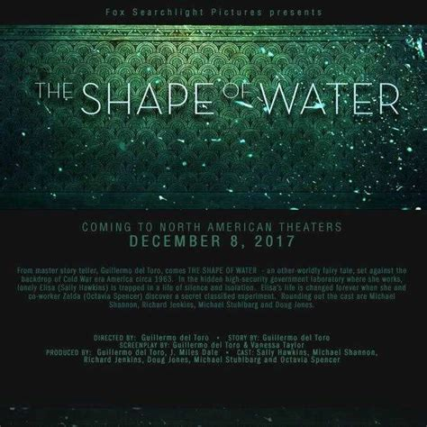 The Shape Of Water Movie Review 2018    Rating, Cast ...