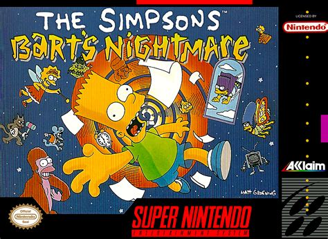 The Simpsons: Bart s Nightmare  Game    Giant Bomb