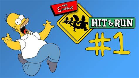 The Simpsons: Hit & Run #1... HOMER   [GMSVidea][CZ]   YouTube