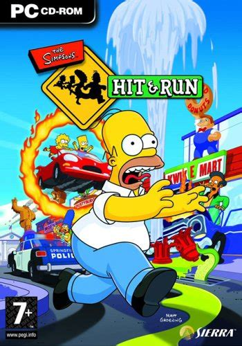 The Simpsons  Hit & Run PC 179 MB HighlyCompressed   SFK GAMES