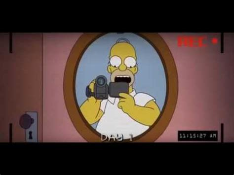 The Simpsons   Paranormal Activity  Spanish    YouTube