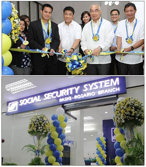 The Social Security System  SSS  inaugurated its third ...