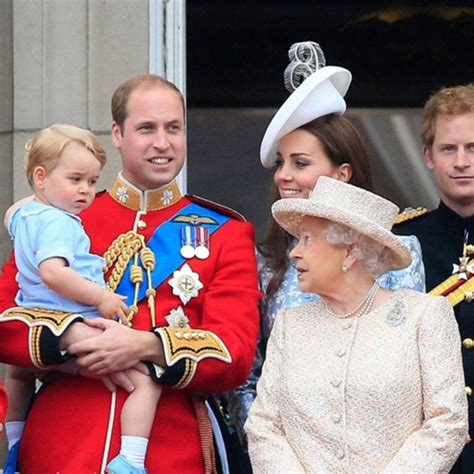 "The son of Kate Middleton calling Queen Elizabeth II ""Baba ..."