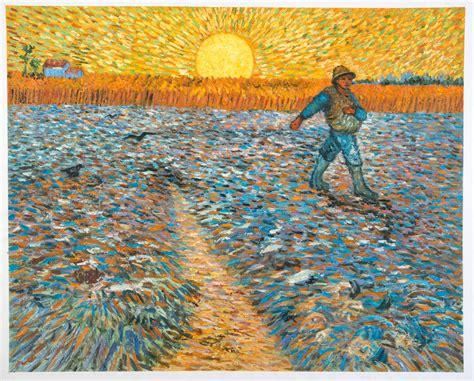 The Sower Van Gogh reproduction, hand painted | Van Gogh ...