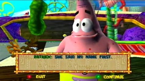 The Spongebob Squarepants Movie [Game Cube] Part 14   YouTube