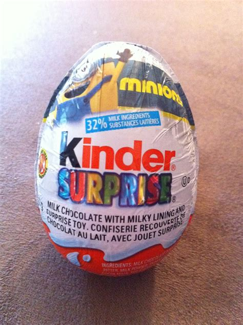 The Sweet Bean: Miscellaneous : Kinder Surprise Minions