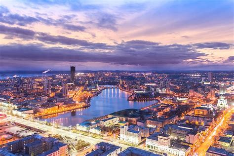 The Top Attractions in Yekaterinburg, Russia