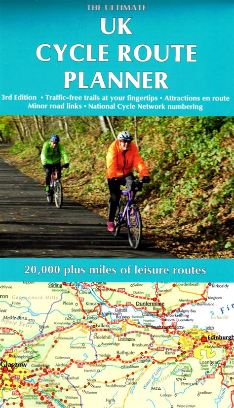 The Ultimate UK Cycle Route Planner Map   Cycling ...