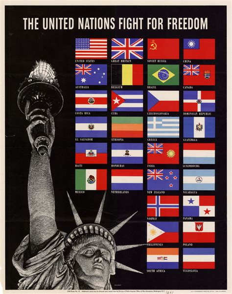 The United Nations fight for freedom.   UNT Digital Library
