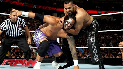 The Usos vs. 3MB: Raw, August 19, 2013   YouTube
