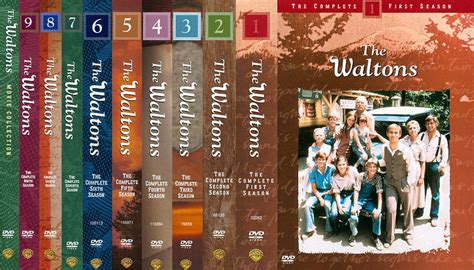 The Waltons Complete Series Season 1 9 & Movie Collection ...