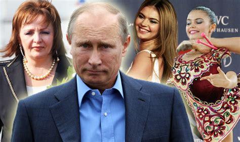 The women of Vladimir Putin: Russian President s wife and ...
