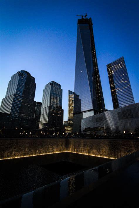 The World Trade Center 9/11 Memorial at Night | Ryan Fischer