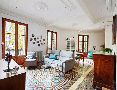 TheHallStudio rehabilita un piso modernista del Eixample ...