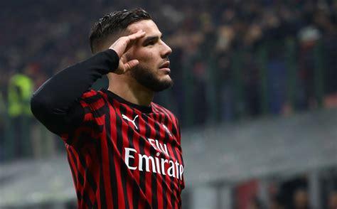Theo Hernandez:  Non pensavo di fare così bene in Italia ...