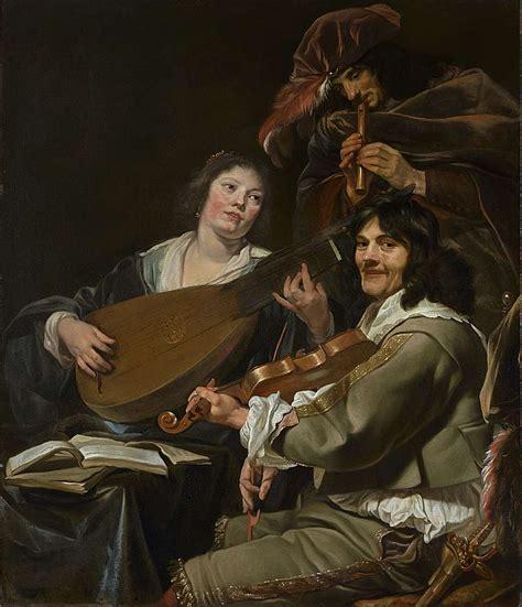 Theodore Rombouts | Una escena de género musical | IOMR ...