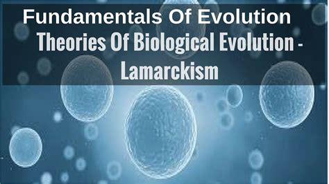 Theories Of Biological Evolution   Lamarckism   YouTube