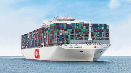 These are the world s ten largest container ships