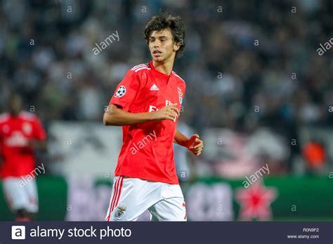 Thessaloniki, Greece   August 29, 2018: Player of Benfica ...