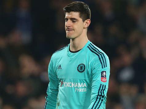 Thibaut Courtois transfer news: Chelsea goalkeeper  in row ...