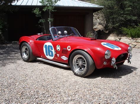 This 1963 Shelby Cobra, CSX2009, was the only factory ...