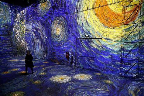 This digital museum in Paris has Van Gogh installation ...