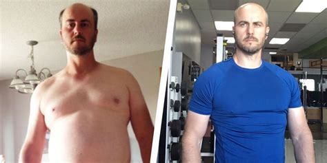 This Guy Had a 55 Pound Weight Loss Transformation By ...